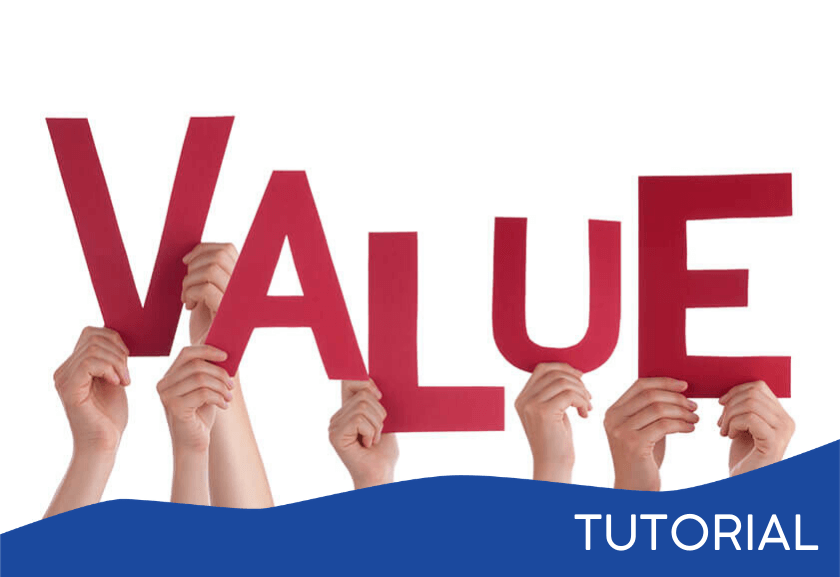 people holding up red letters spelling value - featured image for a Team Value related tutorial from Truby Achievements