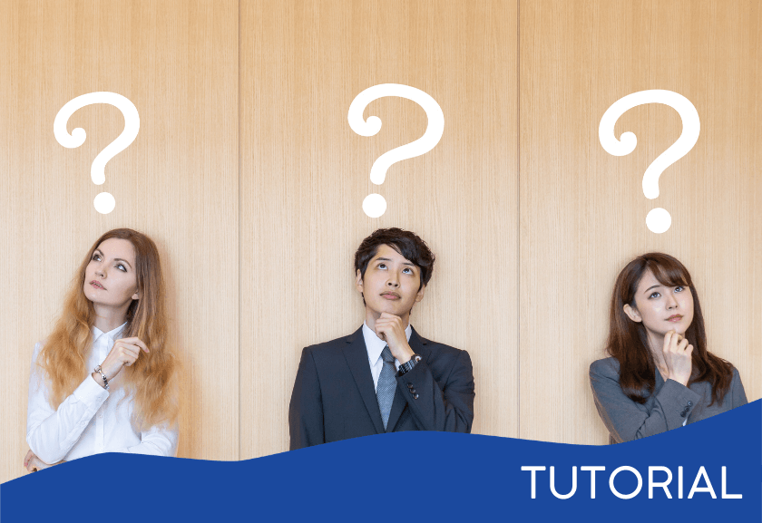 three people standing against a wall with question marks over their heads - featured image for the Communication and Personality Types tutorial from Truby Achievements