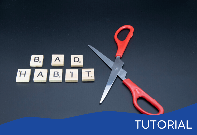 bad habits scrabbles leaders and scissors - featured image for the Breaking Habits tutorial from Truby Achievements