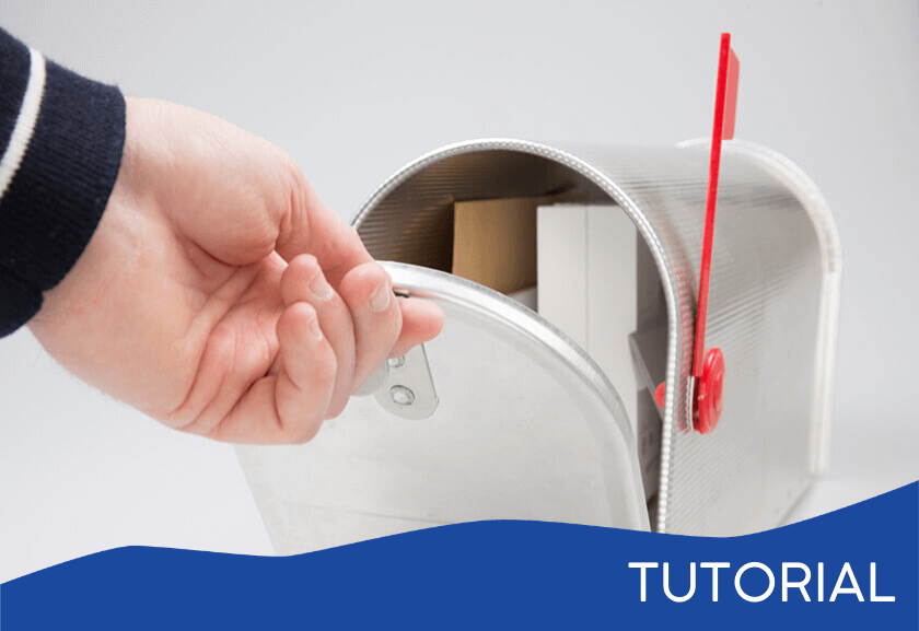 opening a mailbox - featured image for the Valuable Contribution related tutorial from Truby Achievements