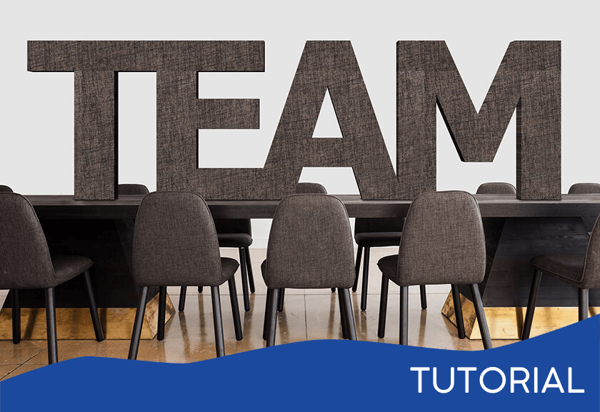team word on a business table - featured image for the What is a Team tutorial from Truby Achievements