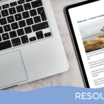 tablet showing the article next to a computer - featured image for Lesson in Leadership - Free Article from Truby Achievements (pdf version)