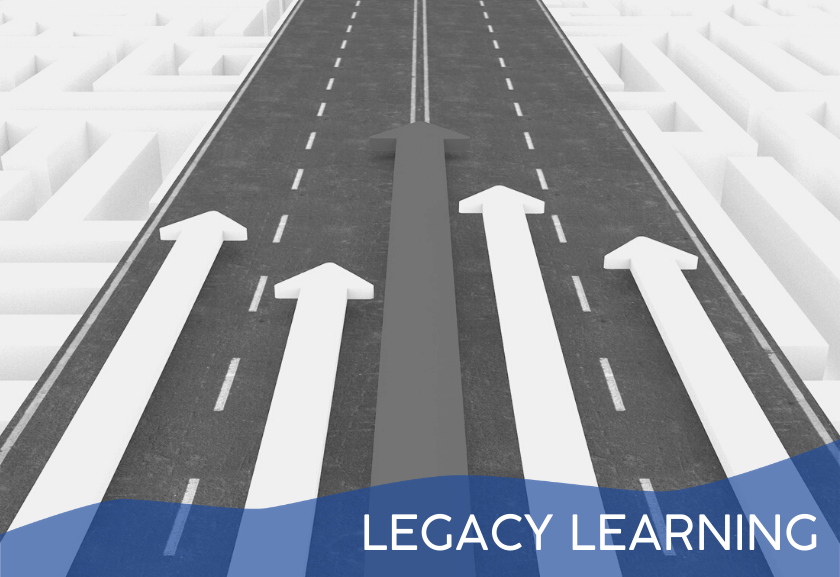 road with arrows for legacy learning training - truby achievements membership site, source of leadership training