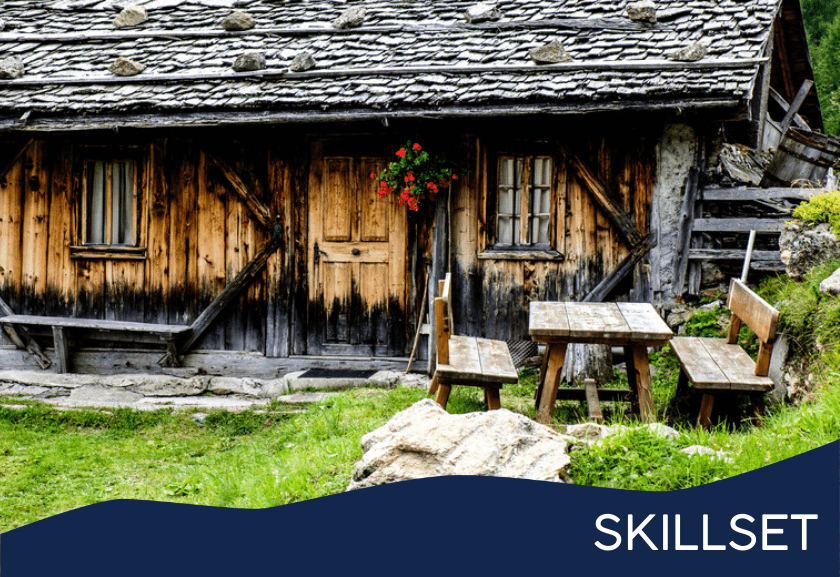old log cabin - featured image for legacy training skillset from truby achievements