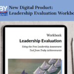 banner image showing mockup up leadership evaluation - for a hot topic banner image for Truby Achievements, leading provide of leadership training and resources