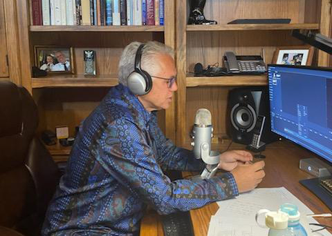 recording a podcast - speaking engagements by bill truby, truby achievements