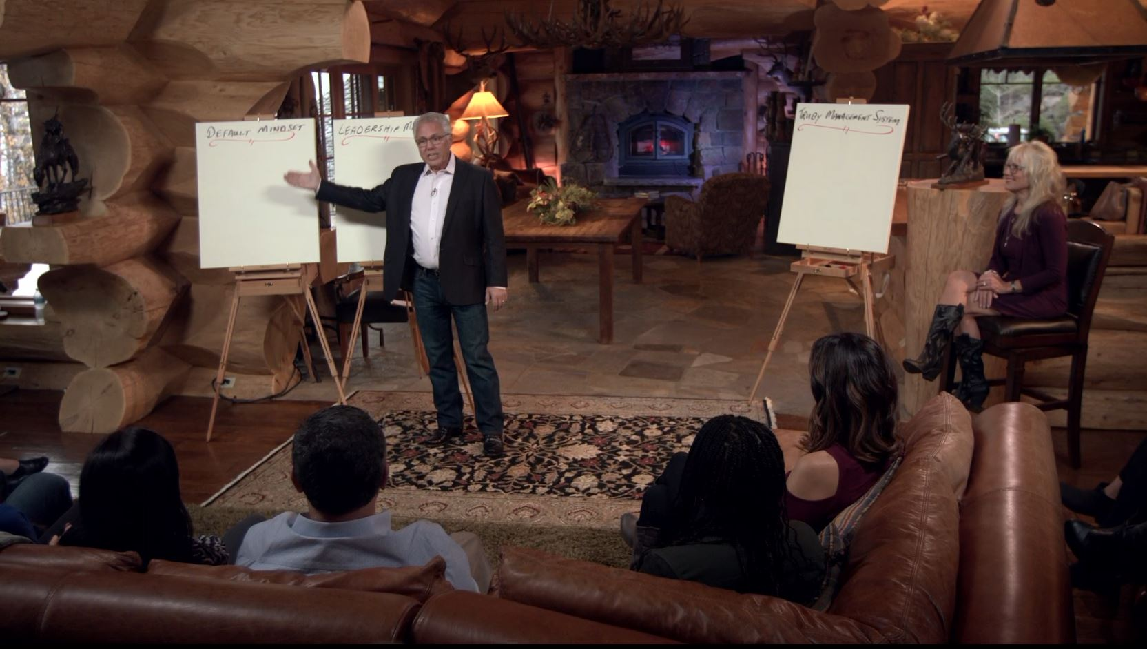 snapshot of private conference event - speaking engagement by bill truby, truby achievements