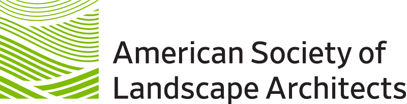 asla logo - american society of landscape architects - a client of truby achievements